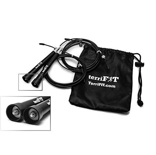 Speed Rope - 10 Ft Best Adjustable Ultra Speed