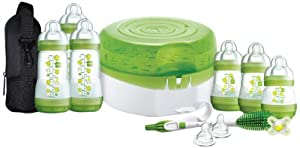MAM Newborn Essentials Set for 0 to 24 Months (Green)
