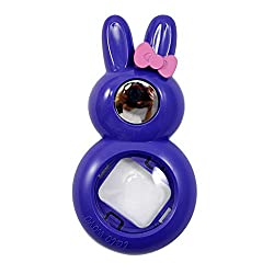 [Fujifilm Instax Mini 8 Selfie Lens] -- Lalonovo Rabbit Style Instax Close Up Lens with Self-portrait Mirror for Fujifilm Instax Mini 8 Instant Film Camera (Purple)