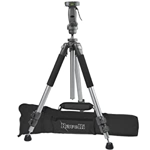 "Ravelli Apgl4 Professional 70"" Tripod With Adjustable Pistol Grip Head And Heavy Duty Carry Bag"