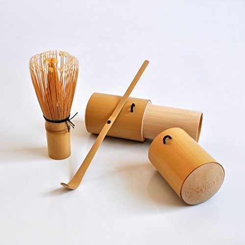 Canton Tea Co Bamboo Matcha Accessories Set, Brown by Canton Tea Co. (Canton Tea Co compare prices)