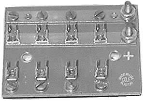 Cole Hersee M674 4 Position Fuse Block