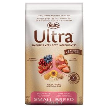 Ultra Dog Small Breed Adult Dog Food 4- Pound