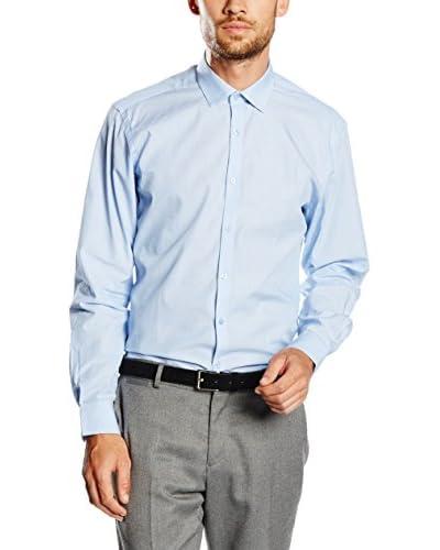 TORRENTE Camicia Uomo [Blu Chiaro]