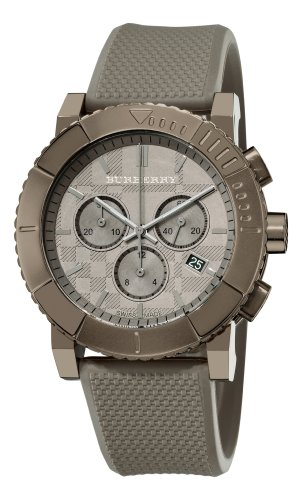 Burberry Men's BU2302 Trench Chronograph Brown Chronograph Dial Watch