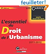 Image de Lessentiel du droit de lurbanisme : 2011-2012