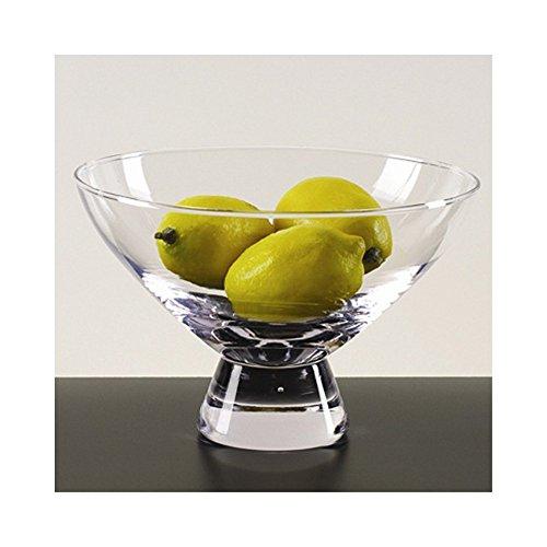 Badash Crystal Plato 6.25in Round Pedestal Bowl (Centerpiece Pedestal Bowl compare prices)