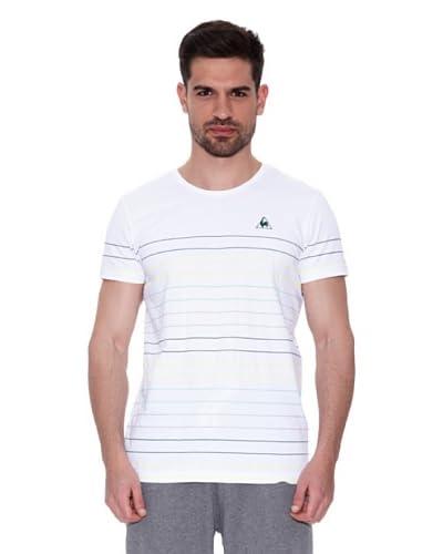 Le Coq Sportif Camiseta Elorn Blanco