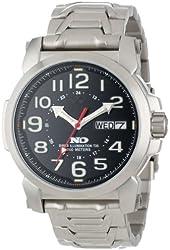 REACTOR Men's 68091 Atom Never Dark Classic Stainless Steel Watch