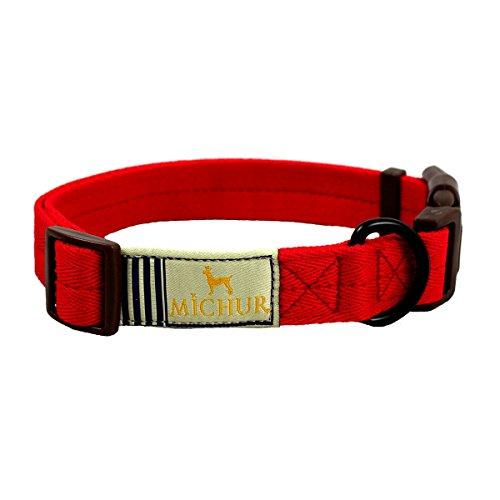 michur-wendy-rot-hundehalsband-nylon-hundehalsband-in-verschiedenen-grossen-erhaltlich
