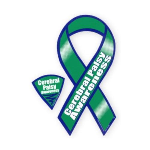 Cerebral Palsy Awareness Ribbon Magnet