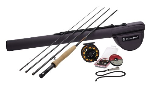 Redington Topo Fly Fishing Outfit 9' #5 fly rod, fly reel, fly line, case and more