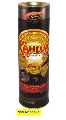 Kahlua Flavored Non Alcoholic Chocolates In A Tube