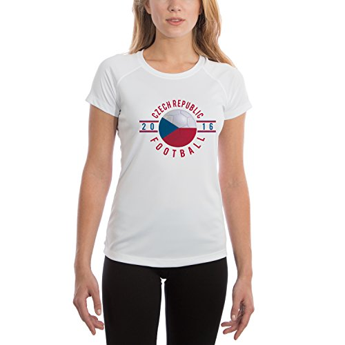 Vapor Apparel Women's Czech Republic 2016 UPF Performance T-shirt XX-Large White