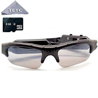 Spyman Sunglasses MP3 Player DVR Mini Camera Camcorder Video Recorder