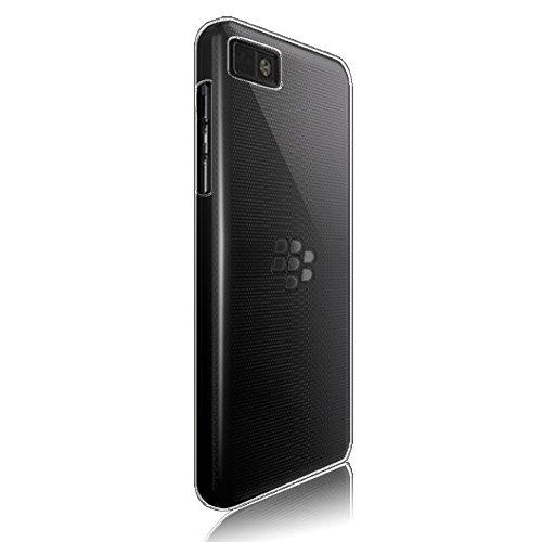 RKA Crystal Clear Transparent Hard Back Case Cover for Blackberry Z10