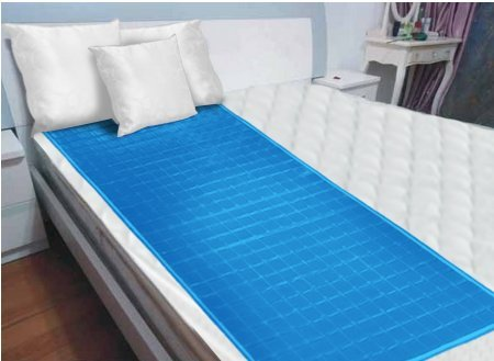 "[NEW] Luxury Cool Gel Mattress Pad 24""x60"" [X LARGE] Best"