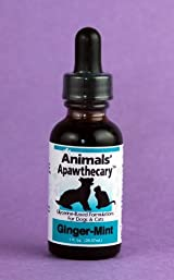 Animal Essential APAWTHECARY GINGER MINT (Stomache) 1 oz - For Dogs & Cats