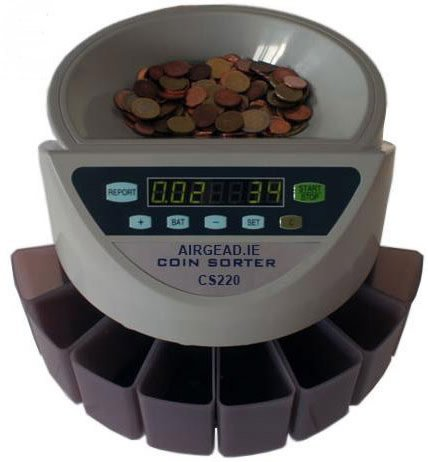 TrustScan CS250 UK Sterling Coin Sorter  &  Counter