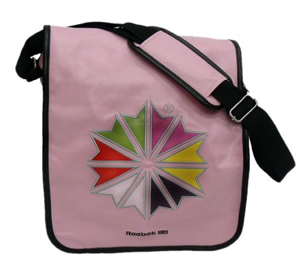 Reebok Womens Pink Messenger Bag