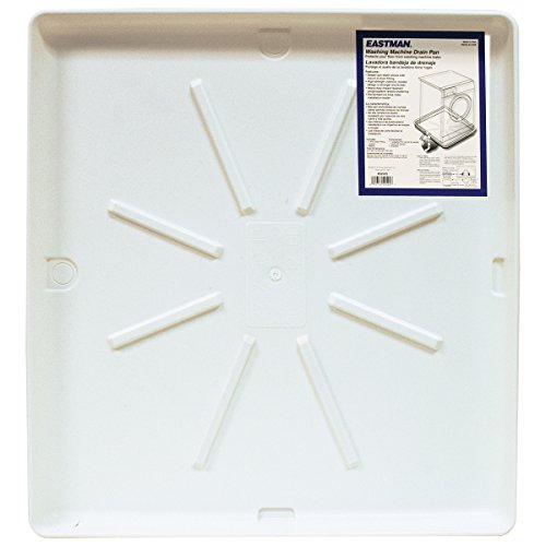 "Eastman 52525 Washing Machine Pan, 30"" x 32"""