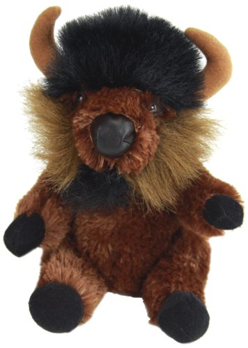 "Purr-Fection Tender Friend Buffalo Sitting 6"" Plush - 1"