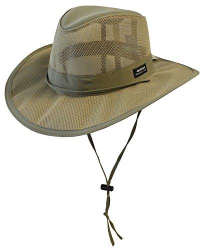 1927b119afaa8 Panama Jack Men s Mesh Safari Hat Large Fossil