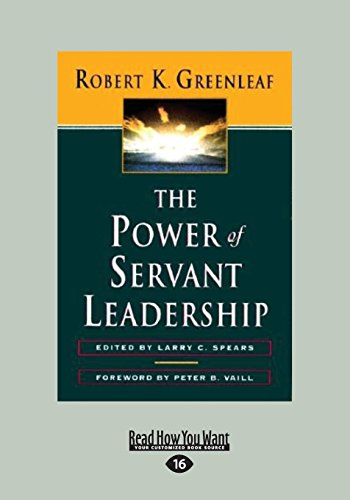 The servant as leader essay pdf