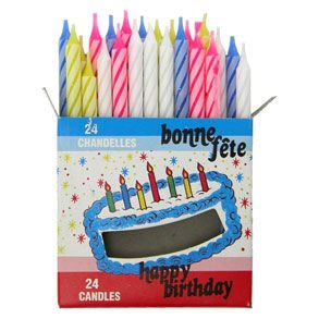 Birthday Candles - 1