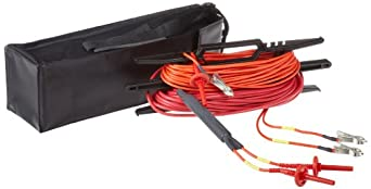 Megger 6311-080 Shielded Lead Set for BM15 and MJ15 Analog Insulation Testers, 50' Length