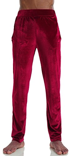 Pizoff Mens Unisex Casual Sport Sapphire Velvet Soft Velour Tracksuit SweatPant Y1581-01-M (Uniform Wares 200 compare prices)