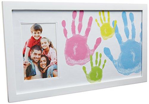 Pearhead Family Handprint Frame, White