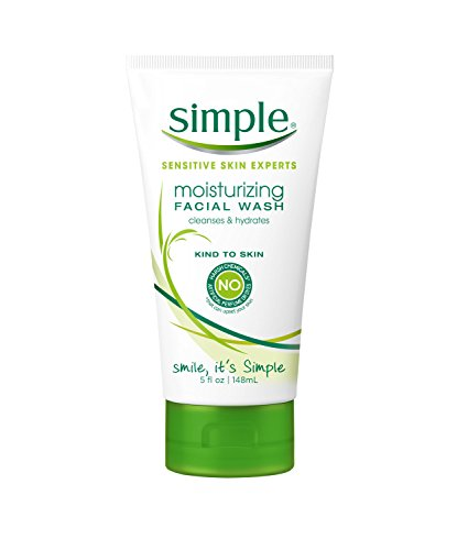 Simple Facial Wash, Moisturizing 5 oz (Means Any Skin Type Will compare prices)