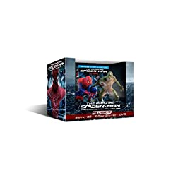 The Amazing Spider-Man (Limited Edition Four-Disc Combo: Blu-ray 3D/Blu-ray/DVD with Figurines)