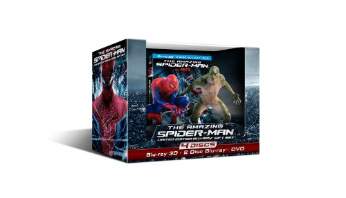 The Amazing Spider-Man - (Limited Edition Four-Disc Combo: Blu-ray 3D/Blu-ray/DVD with Figurines)