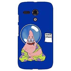 Jugaaduu Spongebob Patrick Back Cover Case For Moto G (1st Gen)