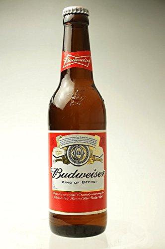 Budweiser(バドワイザー) ビール 330ml瓶×4本セット