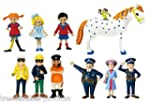 Pippi Langstrumpf Puppenhaus Figuren...