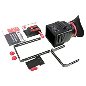 Brand New Kamerar VF-4+ Plus Universal LCD View Finder with Extend Bracket for Dv Camera LED Light SLR B