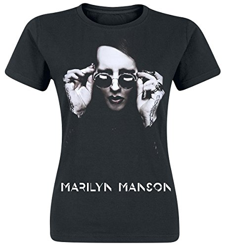 marilyn-manson-specks-maglia-donna-nero-s