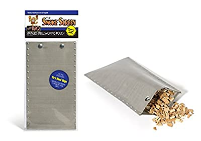 Smoking Pouch - Stainless Steel BBQ Smoker Bag - Smokes Meat On Your Grill