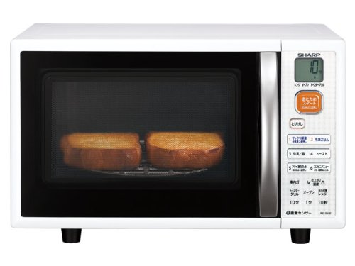 Sharp Re-S15E-W Microwave Oven 15L System Type White (Japan Import) front-621070