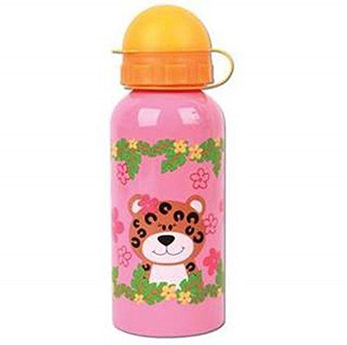 Stephen Joseph Stainless Steel Bottle - Zoo - Girl front-138055