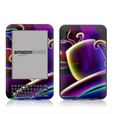 Coffee Break Design Protective Decal Skin Sticker For Amazon Kindle Keyboard / Keyboard 3G (3Rd Gen) E-Book Reader - High Gloss Coating