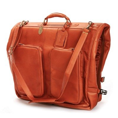 Classic Garment Bag Color: Saddle