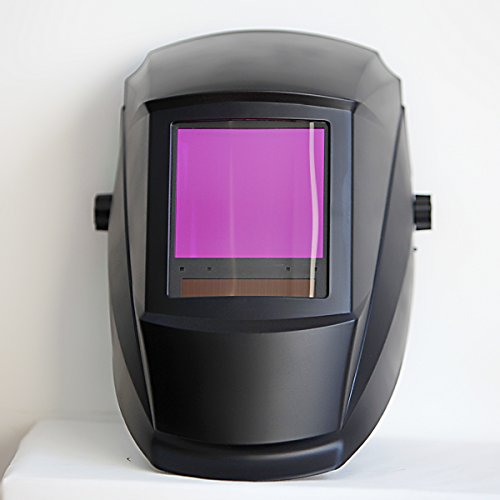 Antra-AH7-860-0000-Solar-Power-Auto-Darkening-Welding-Helmet-AntFi-X60-8-Jumbo-Viewing-Size-378X35-Variable-Shade-45-99-13-with-Grinding-Feature-Extra-lens-cover-Good-for-Arc-Tig-Mig-Plasma