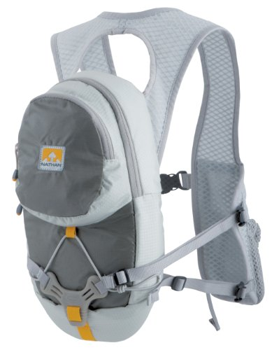 Nathan Nathan HPL #020 2.0 Liter Men's 2-Liter Hydration Race Vest (Flint Grey)