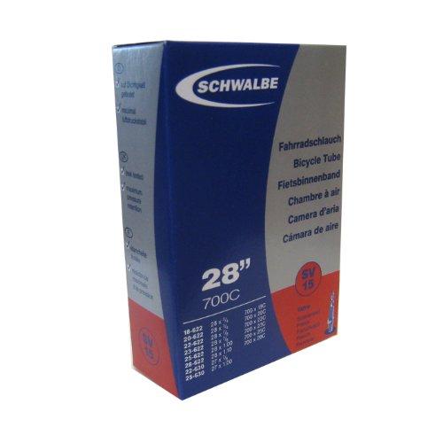 Amazon.co.jp: SCHWALBE(シュワルベ) チューブ 700x18-28C 仏式バルブ 15SV: スポーツ&アウトドア
