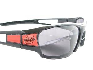 Oklahoma State Cowboys OSU Black Half Rim Sunglasses S11JT by Sports Accessory Store