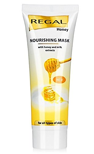 Maschera Nutriente con Miele e Latte, Regal Honey and Milk.